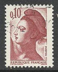 Francie razítkované, r. 1982, Mi.2300 A