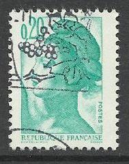 Francie razítkované, r. 1982, Mi.2302 A