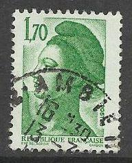 Francie razítkované, r. 1984, Mi.2454 A