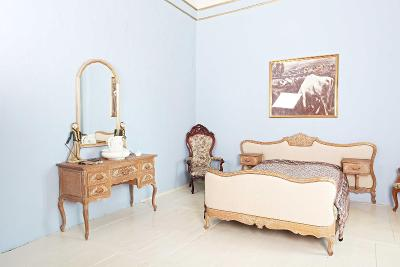 Dubová dětská ložnice provence