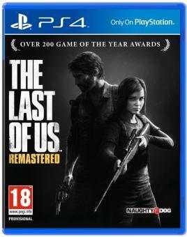 PS4 THE LAST OF US REMASTERED CZ TITULKY