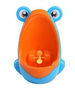 Dětský pisoár žába 0636 modro oranžový
