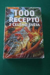1000 RECEPTŮ Z CELÉHO SVĚTA - nevybalené! - původní cena 1.999 korun