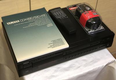 YAMAHA CDX-490+DO/Stereo CD Player /Spitzenklasse von YAMAHA (Japan)