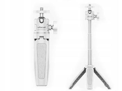 Mini stativ s 3D Monopodovou hlavou / ULANZI MT-08 Bílá