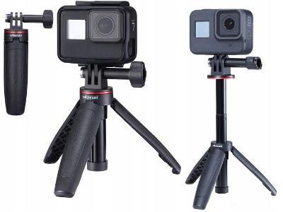 Monopod Tripod pro GoPro / Sjcam / Xiaomi / DJI Osmo Action-MT09 Černy