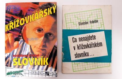 -- 2 X KŘIŽOVKÁŘSKÝ SLOVNÍK - 1992+1996--