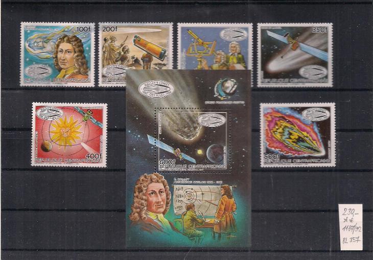 Kosmos - Filatelie