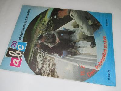 ČASOPIS ABC * ROČNÍK 1985/6 ( 30) VČETNĚ VYSTŘIHOVÁNEK KOMPLETNÍ Č. 20