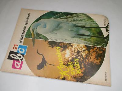 ČASOPIS ABC * ROČNÍK 1985/6 ( 30) VČETNĚ VYSTŘIHOVÁNEK KOMPLETNÍ Č. 21
