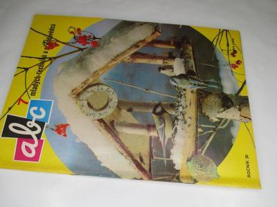 ČASOPIS ABC * ROČNÍK 1985/6 ( 30) VČETNĚ VYSTŘIHOVÁNEK KOMPLETNÍ Č. 7