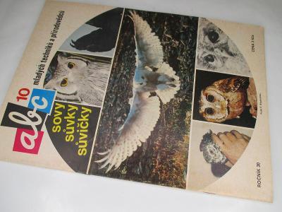 ČASOPIS ABC * ROČNÍK 1985/6 ( 30) VČETNĚ VYSTŘIHOVÁNEK KOMPLETNÍ Č.10