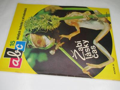 ČASOPIS ABC * ROČNÍK 1985/6 ( 30) VČETNĚ VYSTŘIHOVÁNEK KOMPLETNÍ Č.15