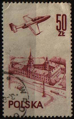Polsko - letadlo nad Varšavou, letecká