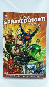 Liga spravedlnosti 1: Počátek (paperback)