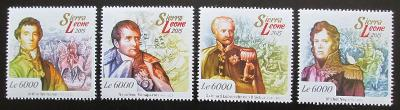 Sierra Leone 2015 Bitva u Waterloo, Napoleon Mi# 6113-16 Kat 11€ 0872