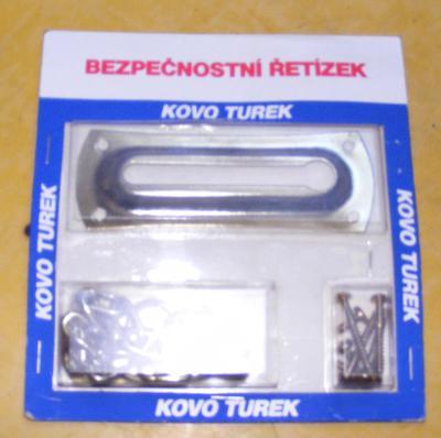 bezpečnostní řetízek na dveře