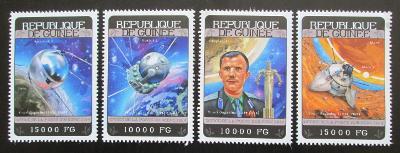 Guinea 2014 Jurij Gagarin Mi# 10442-45 Kat 20€ 0873