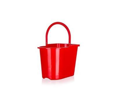 Brilanz plastový kbelík s uchem 15 l Červený - Rozbaleno ( BC 89 Kč )