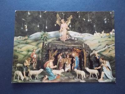 Veselé vánoce Český betlém  foto Vojček