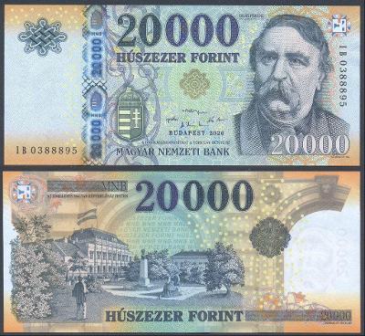 MADARSKO 20000 Forint 2020 P-207d UNC