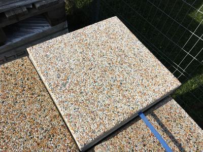 Plošná  vymývaná betonová plošná dlažba ORIENT 40x40x4 cm