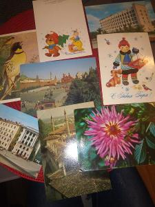 Starší ruské pohlednice