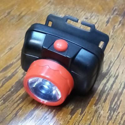 Zánov.LED čelovka s poloh.kloub.~stálé,nebo manuál.přer.světlo/3xAAA