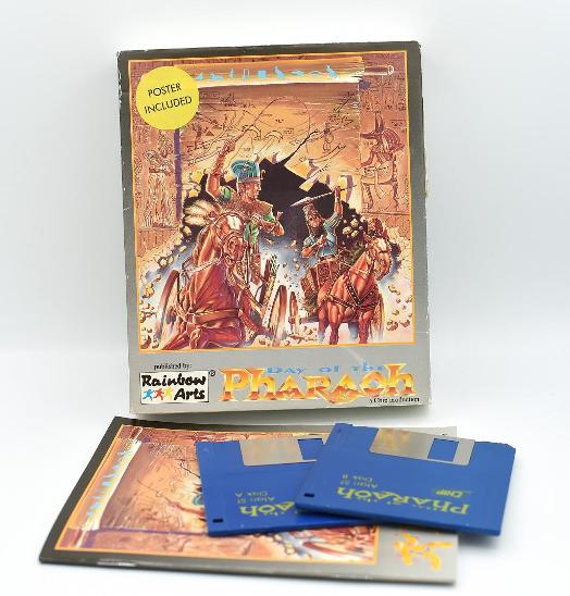 ***** Day of the pharaoh (Atari ST) ***** - Historické počítače