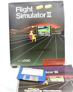 ***** Flight simulator II (Atari ST) *****