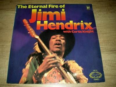 Jimi Hendrix t – The Eternal Fire  (1971) UK 1.press ,EX-