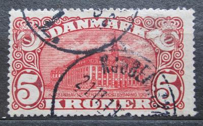 Dánsko 1912 Pošta v Kodani VELKÁ RARITA Mi# 66 Kat 120€ 0033