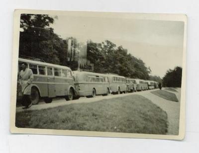 Staré foto - autobusy
