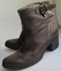 Kožené boty zn. Leone vel. 39