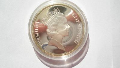 Bermudy 1 dolar 1986