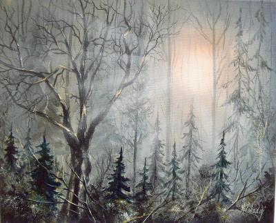 Alex.Cabadaj. Podzimní les