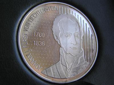 mince 10 frank 2006 Lichtenstein