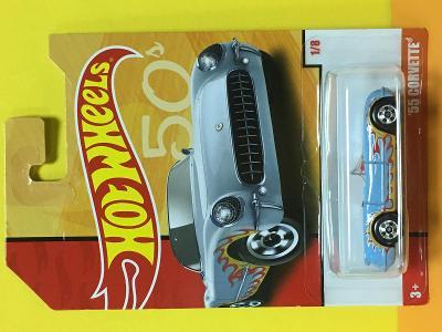'55 Corvette - Hot Wheels - Retro Series 1/8