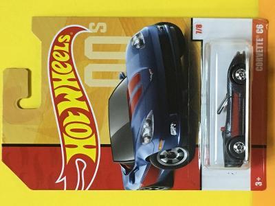 Corvette C6 - Hot Wheels - Retro Series 7/8