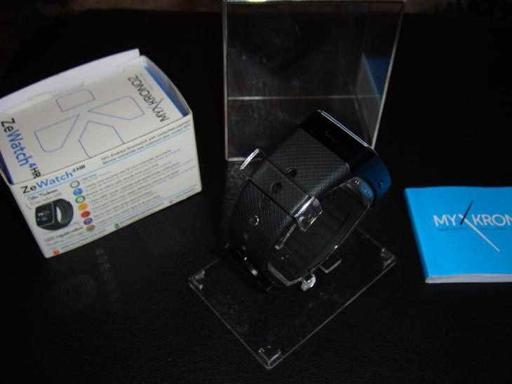 MyKronoz ZeWatch4 HR Black,s měřičem tepu  - Chytrá elektronika