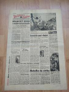 Noviny Večerník Praha Rok 1993 (3)