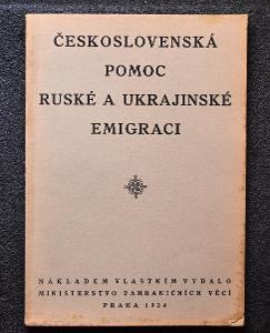 Československá pomoc ruské a ukrajinské emigraci 1924/S-126a
