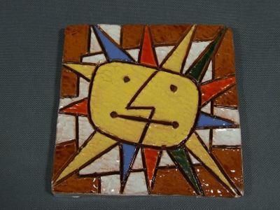 Slunce Jan Kutálek 15,5×15,5cm