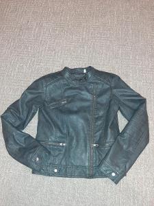 Pěkná koženková bunda zn. C&A vel. 134-146