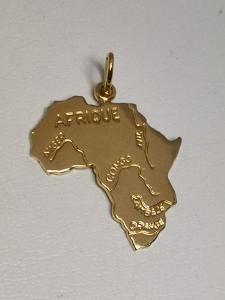 Zlacený přívěs Altesse Afrika