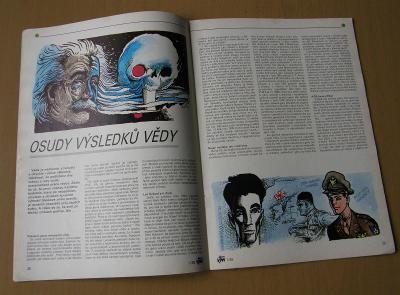 VTM - Věda a technika mládeže 1989/1 * Saudek, Einstein, programování