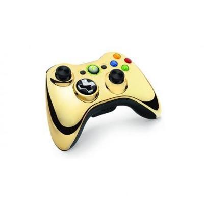 Microsoft Xbox 360 Bezdrátový ovladač zlatý **POUŽITÝ**