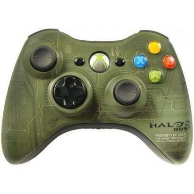 Microsoft Xbox 360 Bezdrátový ovladač HALO 3 **POUŽITÝ**