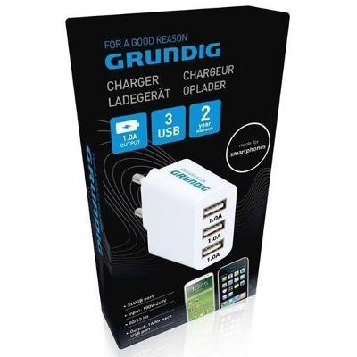 Nabíjecí adaptér pro 3 USB
