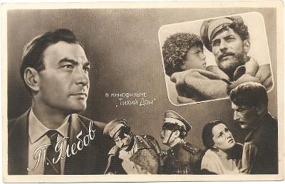 P. GLEBOV, Tichý Don, ruský filmový herec z aristokratické rodiny - MF